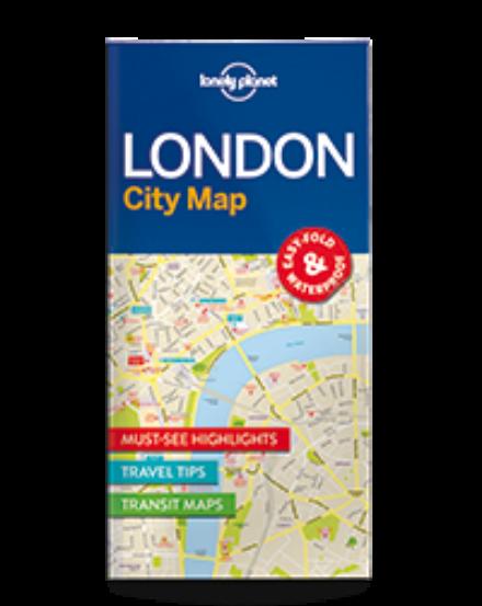 Cartographia  - London laminált térkép Lonely Planet