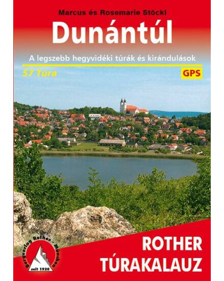 Cartographia  - Dunántúl Rother túrakalauz