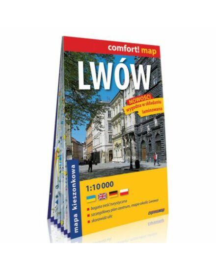 Cartographia  - Lviv Comfort zsebtérkép