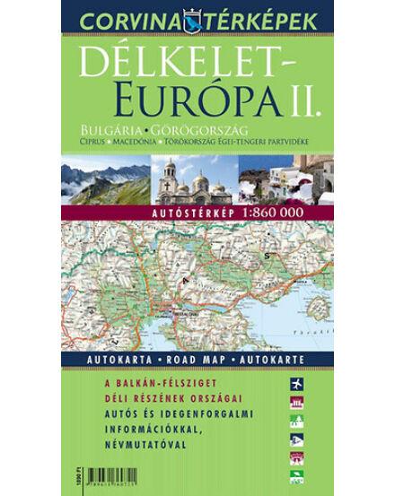 Cartographia  - Délkelet-Európa II. térkép