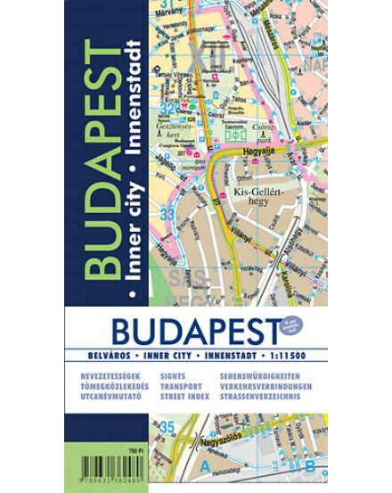 Cartographia  - Budapest belváros térkép
