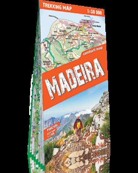 Cartographia  - Madeira trekking térkép