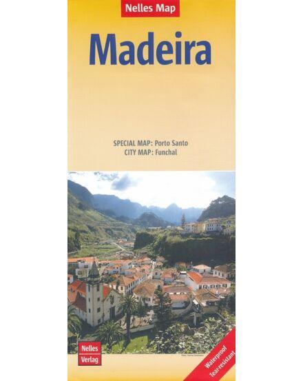 Madeira térkép