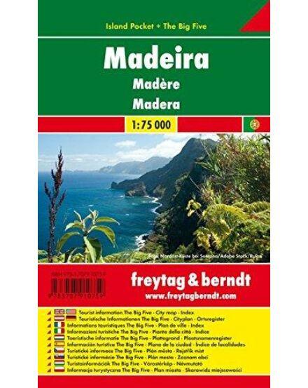 Cartographia  - Madeira térkép - Island Pocket