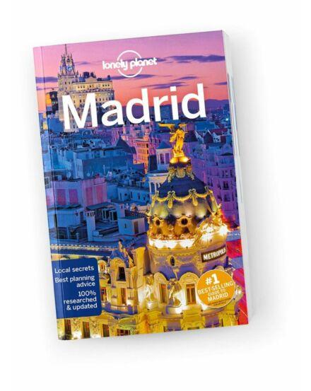 Cartographia  - Madrid útikönyv (angol) Lonely Planet