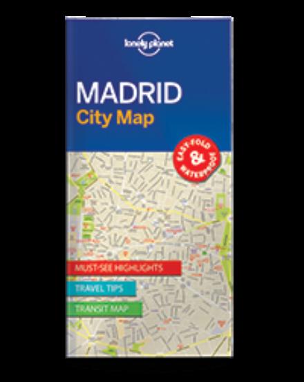 Cartographia  - Madrid laminált térkép Lonely Planet