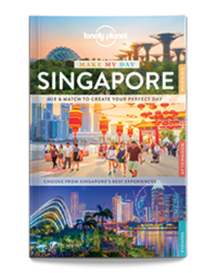Cartographia  - Szingapúr Make My Day útikönyv (angol) Lonely Planet