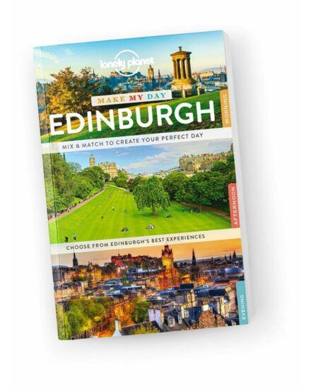 Cartographia  - Edinburgh Make My Day útikönyv Lonely Planet