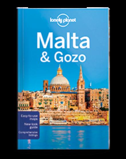 Cartographia  - Málta és Gozo útikönyv Lonely Planet