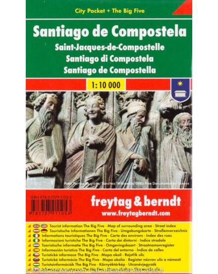 Cartographia  - Santiago de Compostela City Pocket