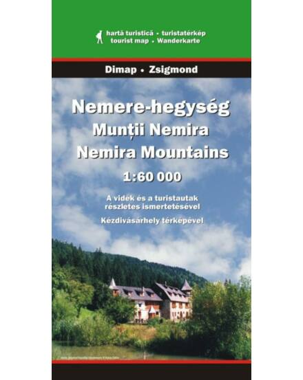 Cartographia  - Nemere-hegység turistatérkép
