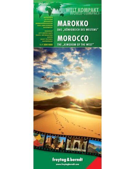 Cartographia  - Marokkó térkép world compact