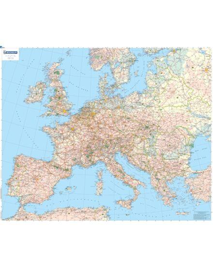Cartographia  - Európa politikai térkép fóliás