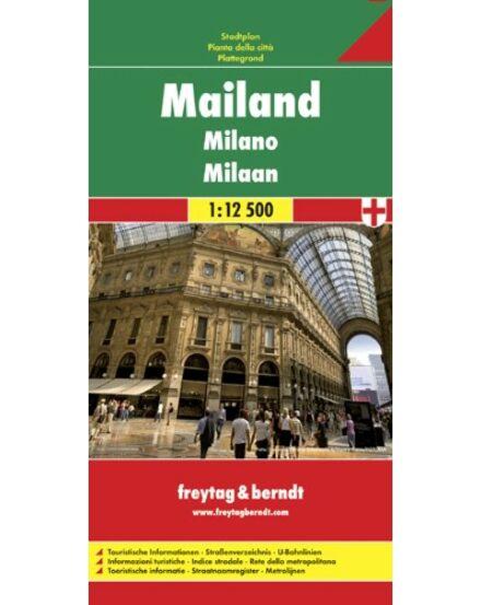 Cartographia  - Milánó várostérkép
