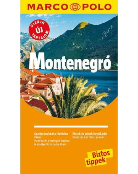 Cartographia  - Montenegró útikönyv