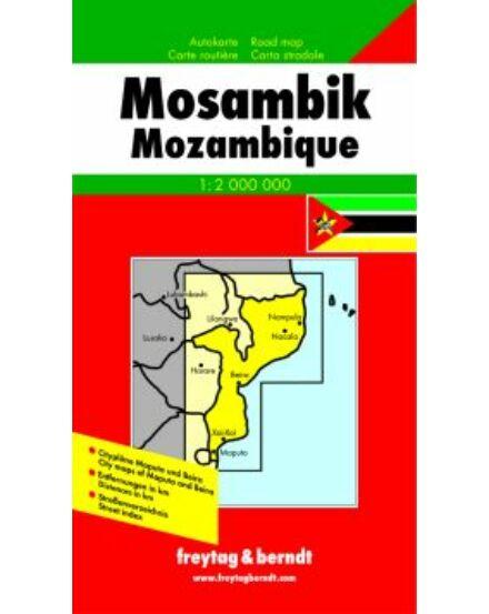 Cartographia  - Mozambik térkép