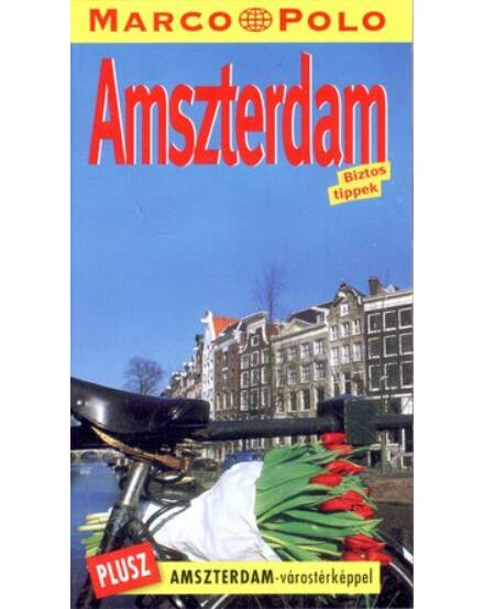 Cartographia  - Amszterdam útikönyv - Marco Polo