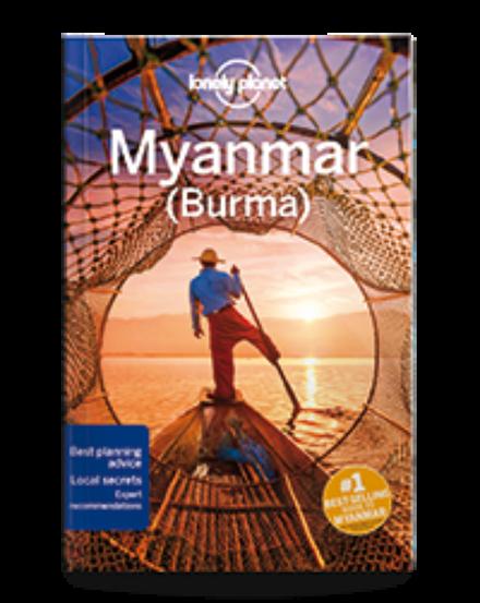 Cartographia  - Myanmar (Burma) útiköny (angol) Lonely Planet