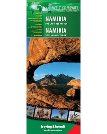 Cartographia  - Namíbia térkép world compact