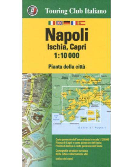 Cartographia  - Nápoly, Ischia, Capri térkép