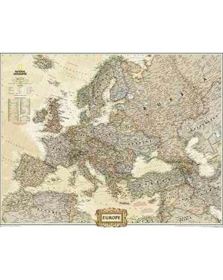Cartographia  - Európa falitérkép - Antik
