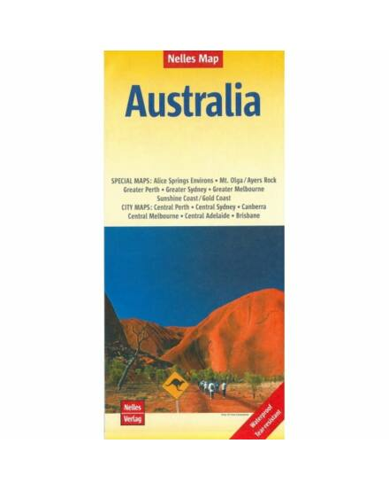 Cartographia  - Ausztrália térkép