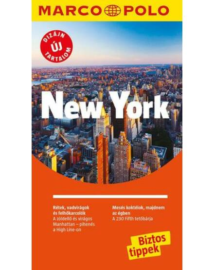 Cartographia  - New York útikönyv - Marco Polo