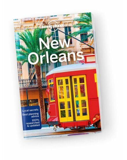 Cartographia  - New Orleans útikönyv (angol) Lonely Planet