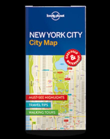 Cartographia  - New York laminált térkép Lonely Planet