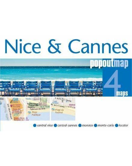 Cartographia  - Nizza és Cannes várostérkép