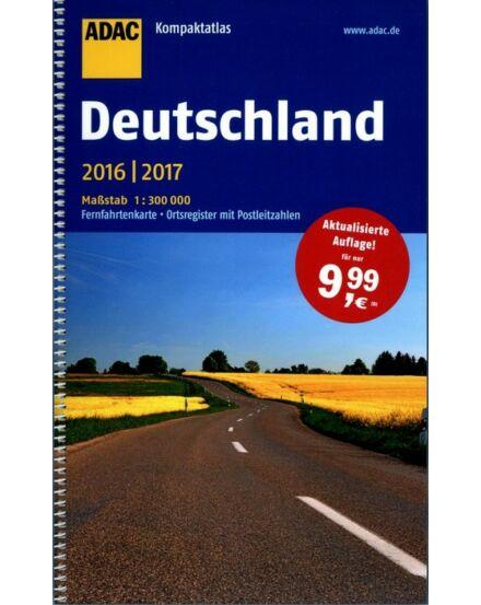 Cartographia  - Németország Kompakt atlasz (2015/16)