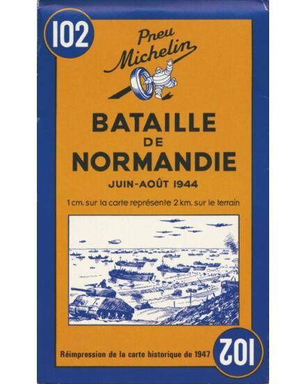 Normandiai csata - történelmi térkép