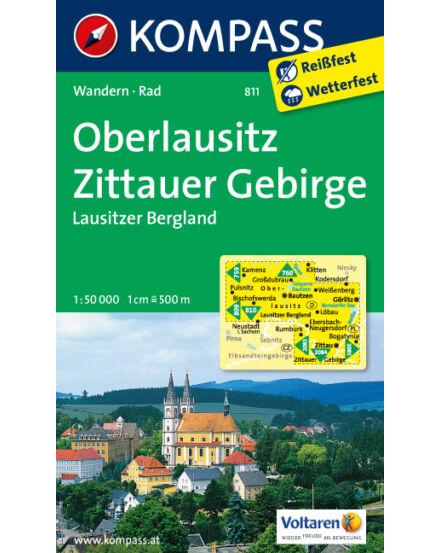 Cartographia  - Oberlausitz - Zittauer Gebirge - Lausitzer Bergland turistatérkép