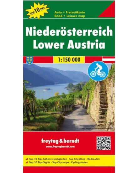 Cartographia  - Alsó-Ausztria térkép