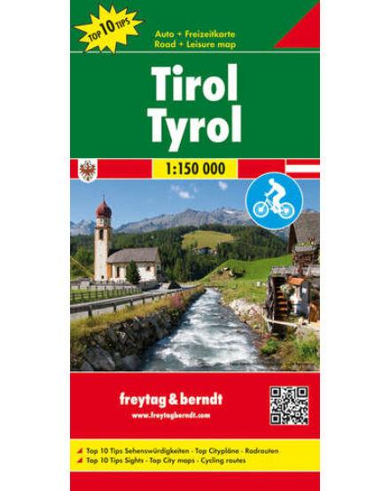Cartographia  - Tirol térkép