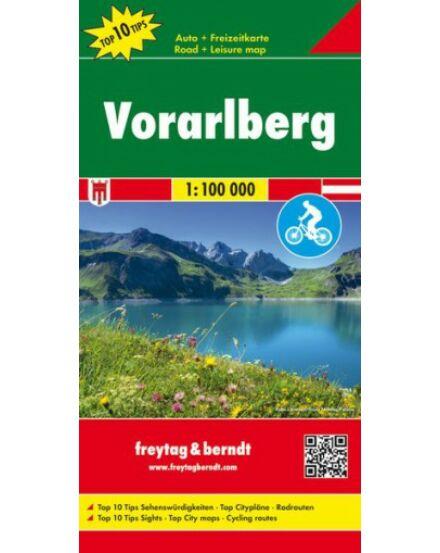 Cartographia  - Vorarlberg térkép