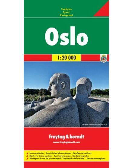 Cartographia  - Oslo várostérkép