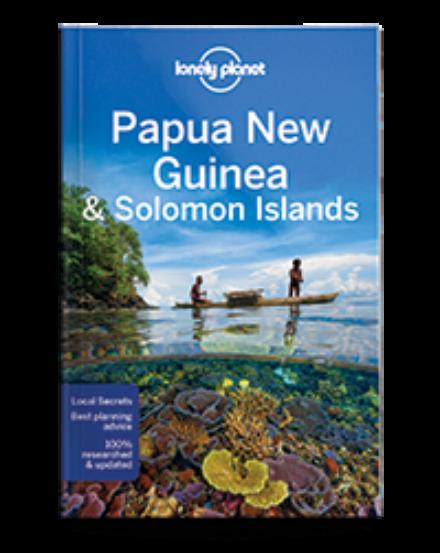 Cartographia  - Pápua Új-Guinea és Salamon-szigetek útikönyv (angol) Lonely Planet