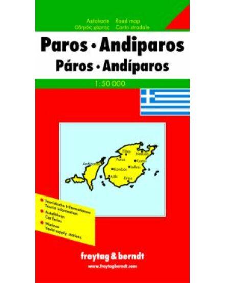 Cartographia  - Görögország résztérkép - Párosz - Antiparosz