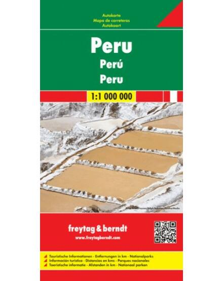 Cartographia  - Peru térkép