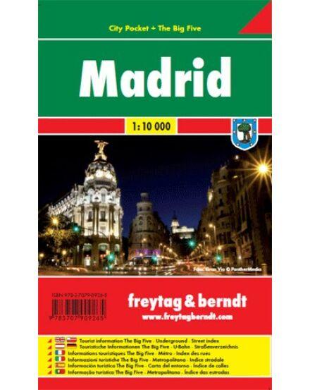 Cartographia  - Madrid City Pocket várostérkép