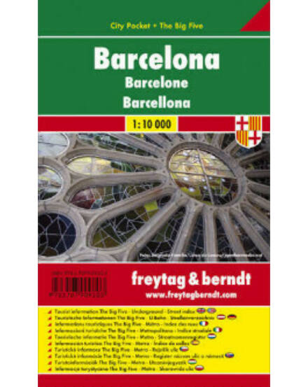 Cartographia  - Barcelona City Pocket várostérkép