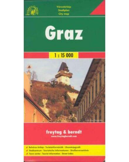 Cartographia  - Graz várostérkép PL14 1:15 000