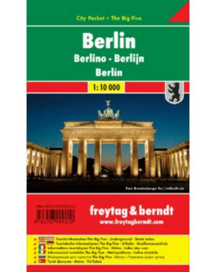 Cartographia  - Berlin City Pocket térkép (laminált)