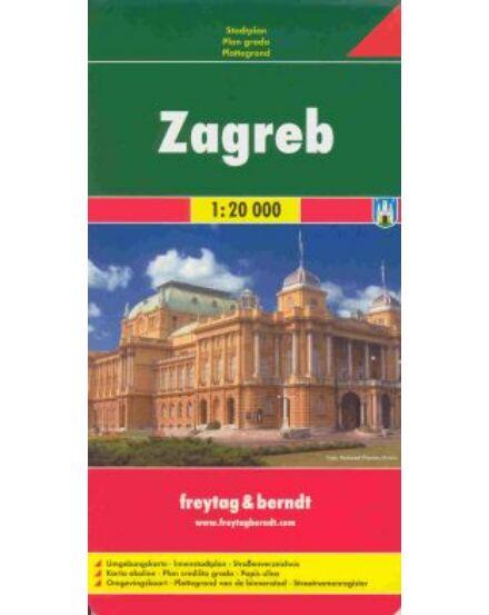 Cartographia  - Zágráb térkép