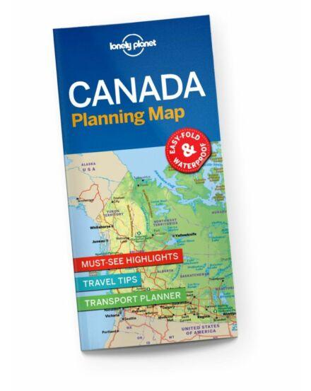 Cartographia  - Kanada útvonaltervező térkép Lonely Planet