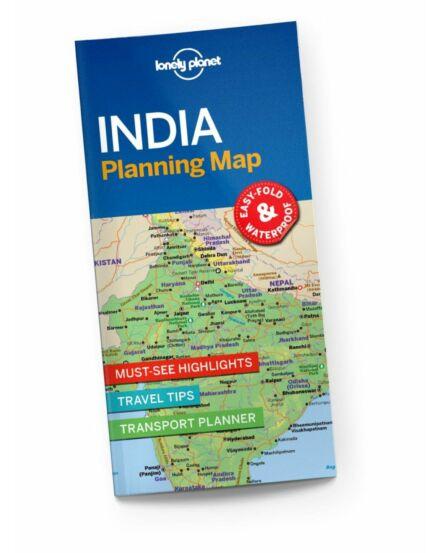 Cartographia  - India útvonaltervező térkép Lonely Planet