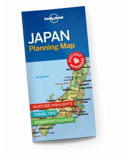 Cartographia  - Japán útvonaltervező térkép Lonely Planet
