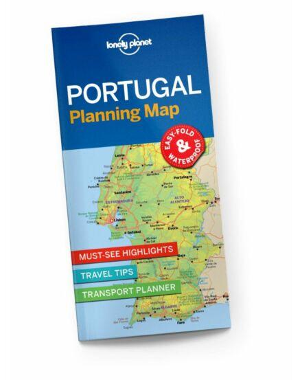 Cartographia  - Portugália útvonaltervező térkép Lonely Planet
