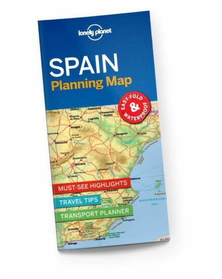 Cartographia  - Spanyolország útvonaltervező térkép Lonely Planet